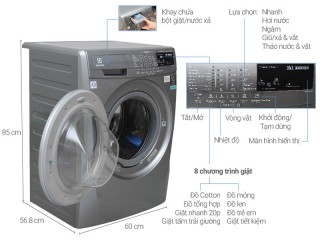 Máy giặt Elechtrolux không quay, lý do là gì?