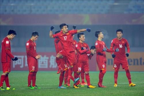 Toàn cảnh tập luyện của tuyển U23 Việt Nam trước thềm tứ kết Asiad