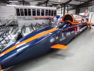 Chiếc xe có thể chạy nhanh nhất thế giới với vận tốc 1.600km/h